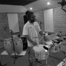 Gravações com Rudson - Percussão