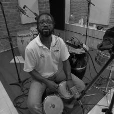 Gravações com Rudson Daniel - percussão
